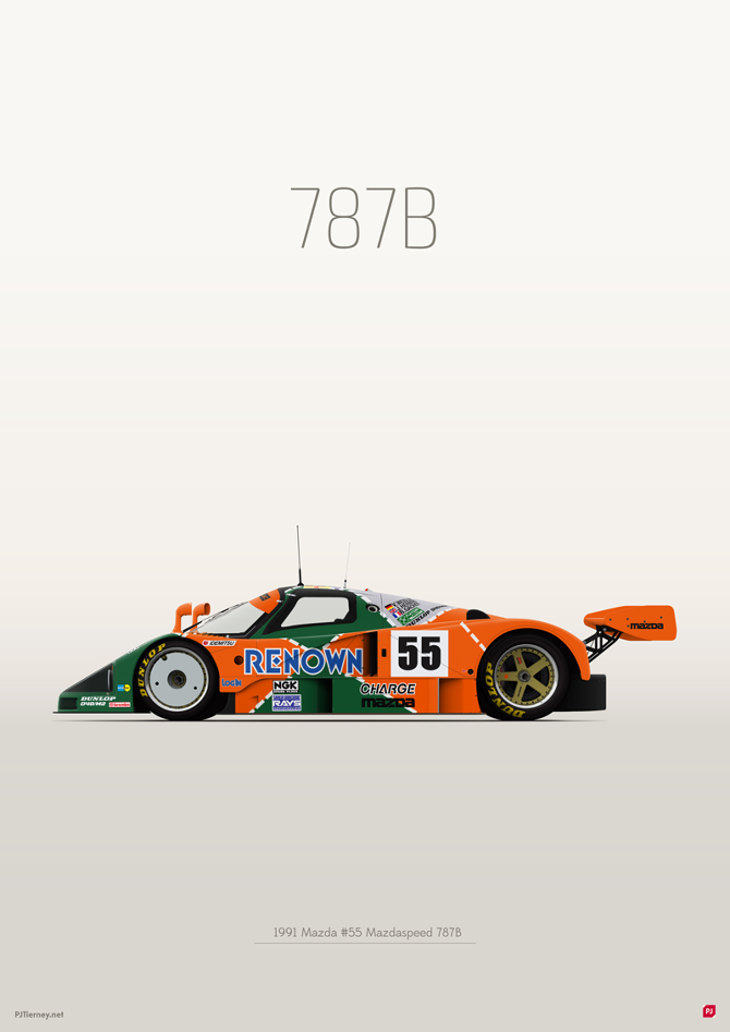 Mazda 787B - PJTierney.net | The creative work of PJ Tierney