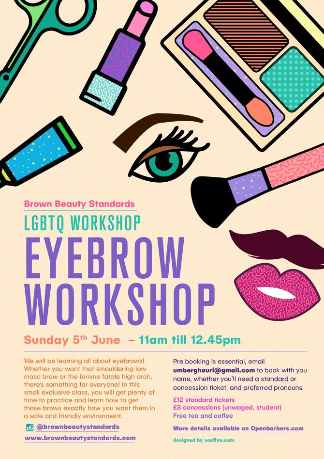 Eyebrow Workshop Poster